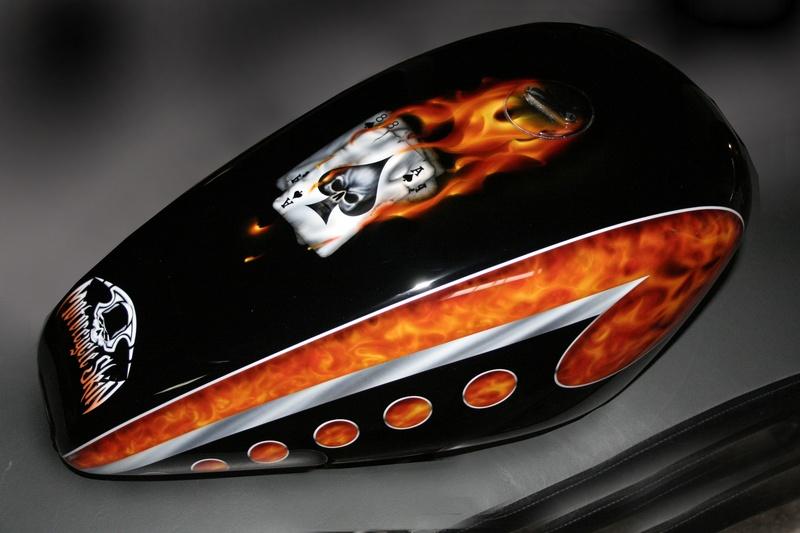 motorcycle gas tank paint jobs. Black Bedroom Furniture Sets. Home Design Ideas