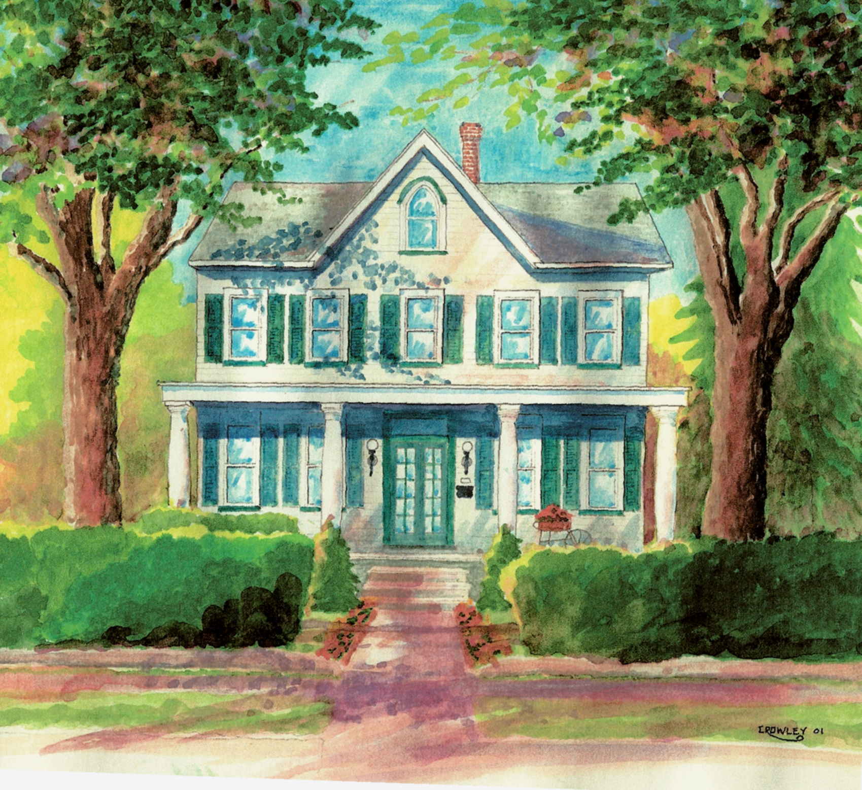Traditional American Houses Group Picture Image By Tag