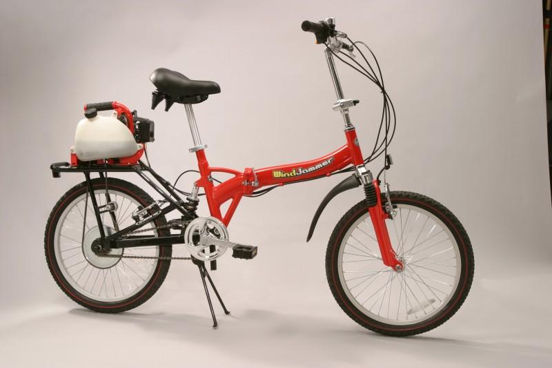 WindJammers Motorized Bikes 100 MPG