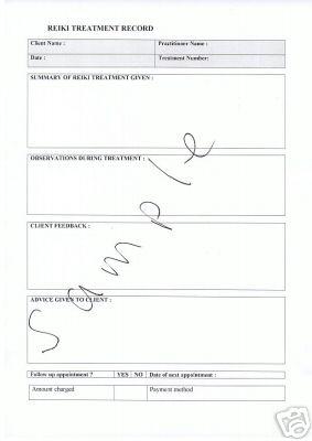 consultation sheets