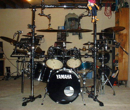 do you own more than one drumset harmony central. Black Bedroom Furniture Sets. Home Design Ideas