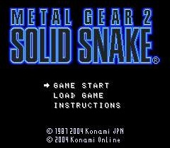 Metal Gear Solid Metal%20Gear%202%20Solid%20Snake%20Mobile