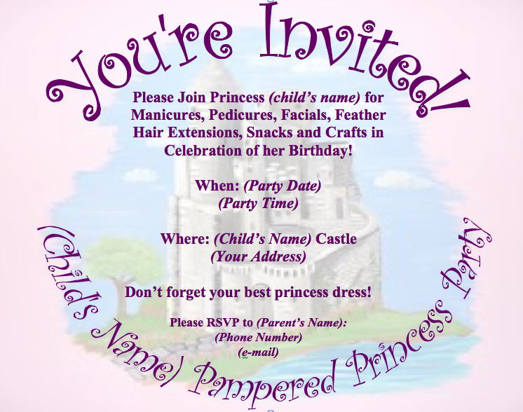 pampered chef party invitation picture wording for pampered chef party ...