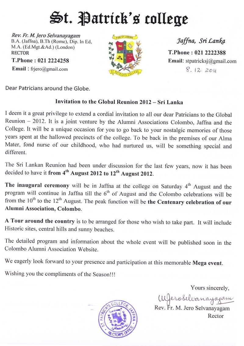College Reunion Invitation Sample Invitations Ideas – Reunion Invitation Sample