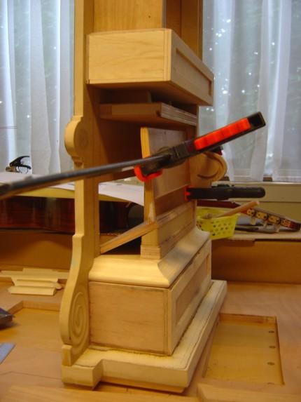 Peter damm guitarmaker repairs maintanance and newly created musical instruments - Plaat hoek bakken ...