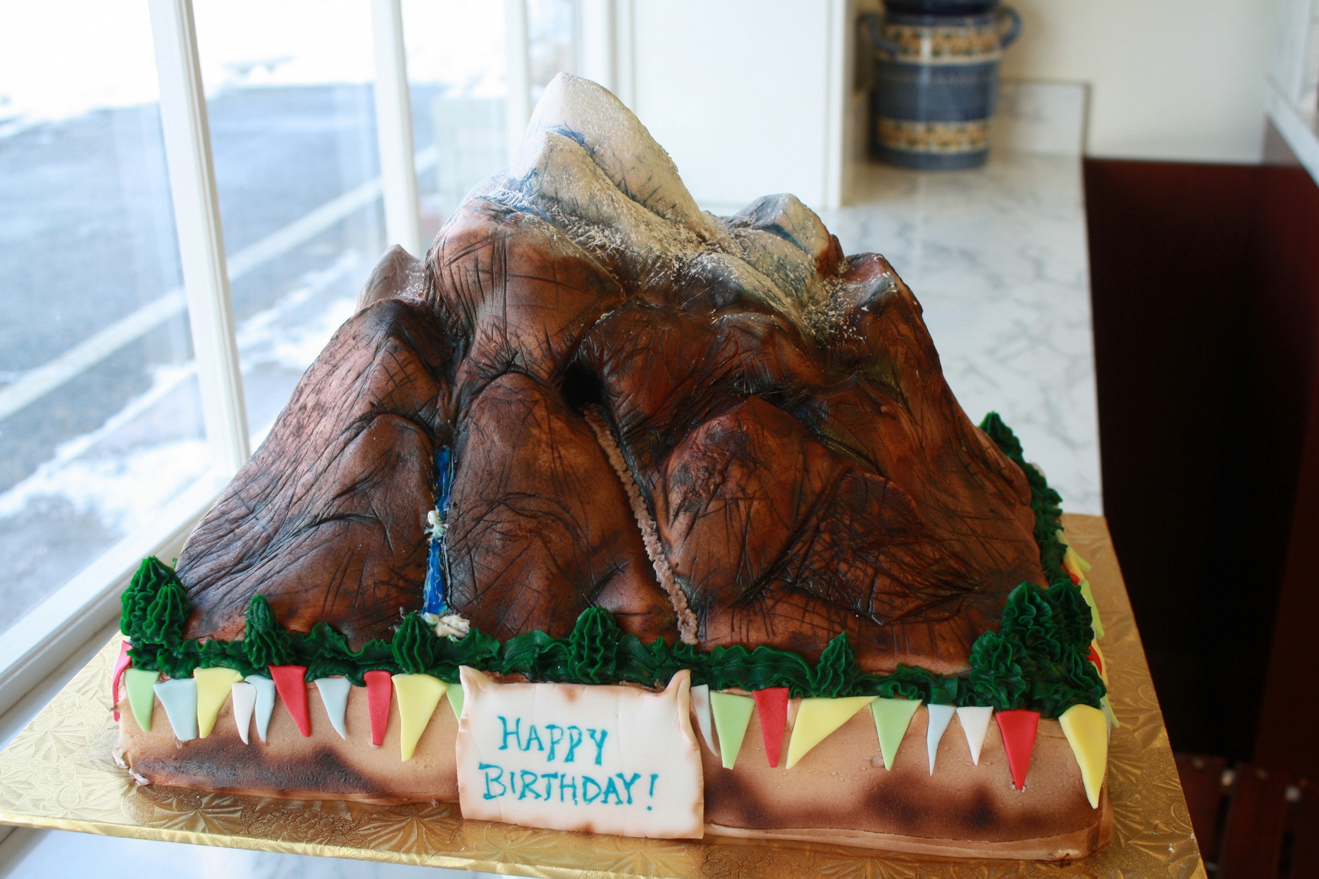 Expedition Everest Cake