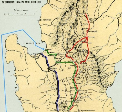 Spanish American War Philippines Map.Trapping Aguinaldo 1899 Philippine American War 1899 1902