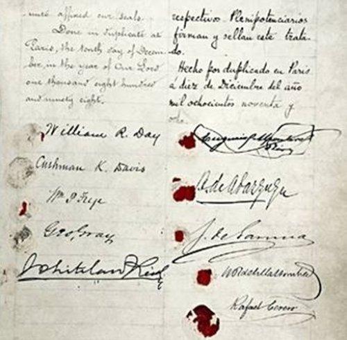 treaty of paris 1898 essay Ap® united states history 2007 scoring guidelines  ap® united states history 2007 scoring guidelines  (1898)/treaty of paris.