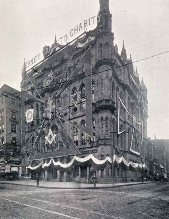 Masonic Buildings Completed In 1895