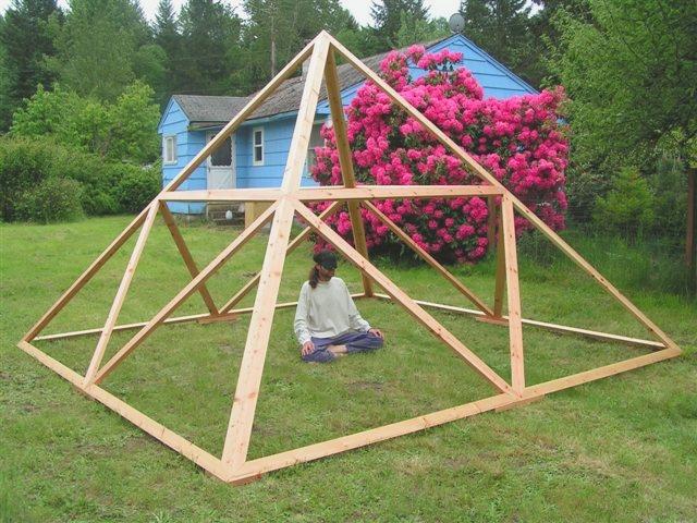 Постройка пирамид своими руками