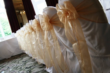 Kenwood Hall hotel chair covers
