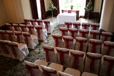 Kenwood Hall Hotel civil ceremony