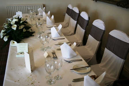 Red Lion chair covers