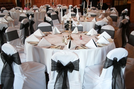 Royal Victoria Holiday Inn with chair covers
