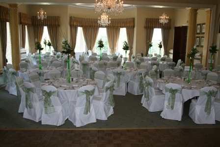 Rudding Park wedding chair covers