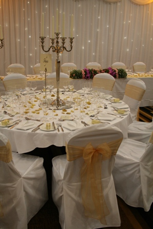 Mercure St Paul's Hotel chair covers