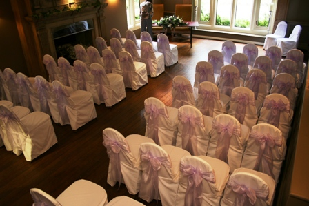 Whirlowbrook Hall chair covers