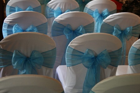 Whitley Hall hotel with chair covers