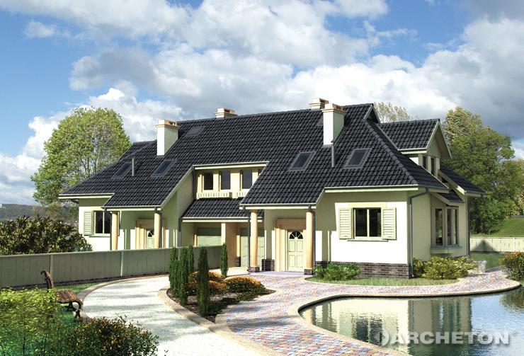 Galerie poze case frumoase proiecte de case for Modele de duplex