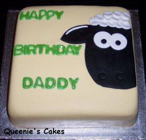 Shaun The Sheep Queenie Cakes