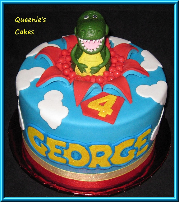 Toy Story Cakes For Boys : Rex toy story queenie s cakes