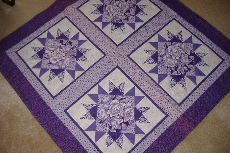 North of the Yarra Quilters Guild Inc Blog: Some more amazing quilts : purple and white quilt - Adamdwight.com