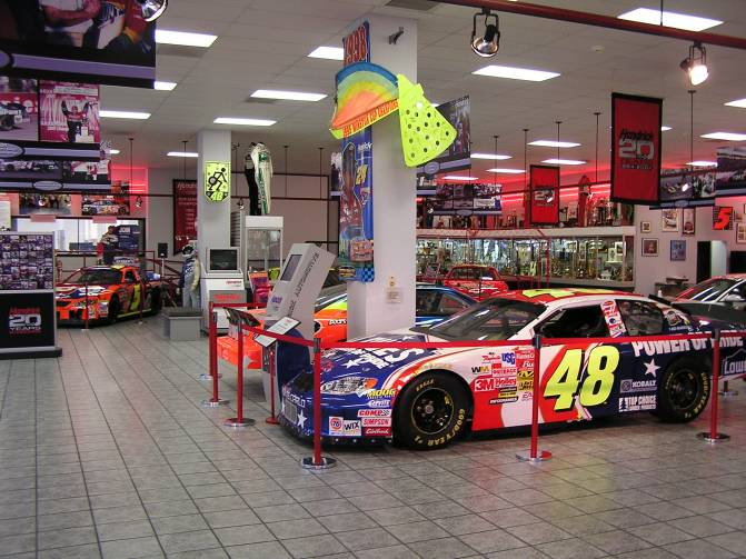 Hendricks Motorsports Shop Images