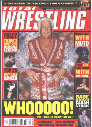 Ric Flair magazine cover