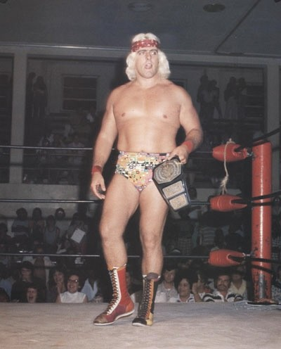 Ric Flair in 1975