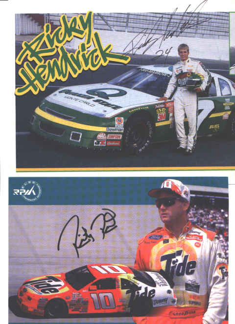 Ricky Hendrick and Ricky Rudd
