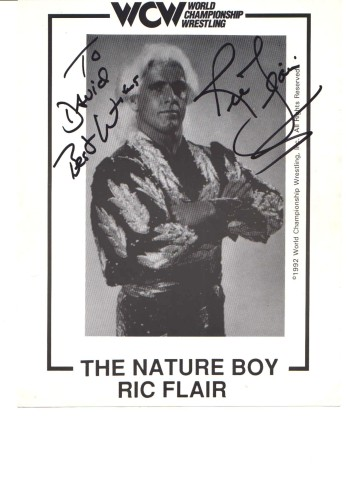 another Ric Flair autographed picture