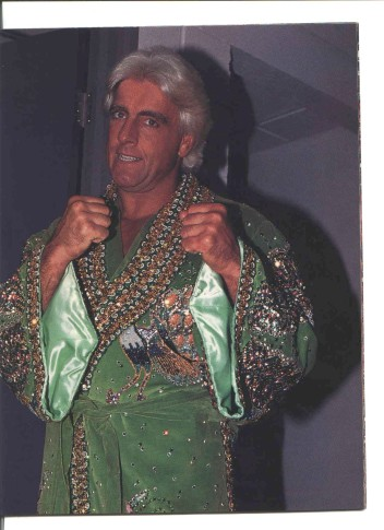 Ric Flair ready for action