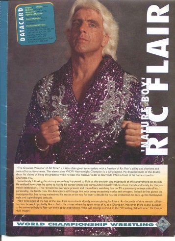 Ric Flair in purple robe