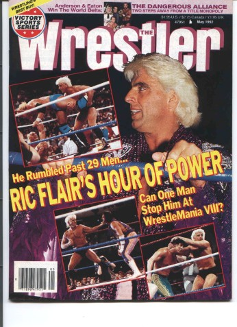 Ric Flair magazine cover