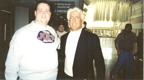 Ric Flair with unidentified man