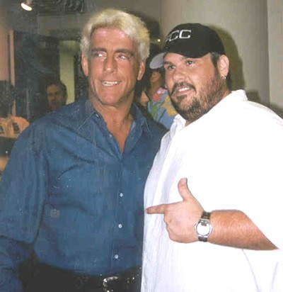 Ric Flair with Bubba The Love Sponge