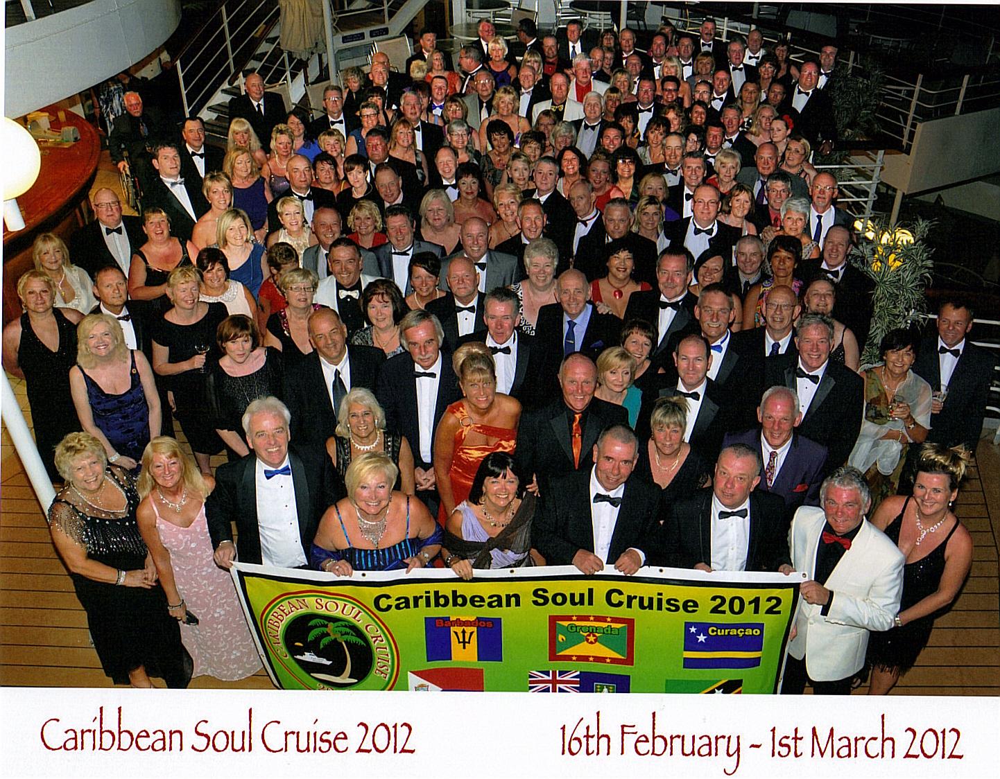 Caribbean Soul: Caribbean Soul Cruise 2012 Group Photo