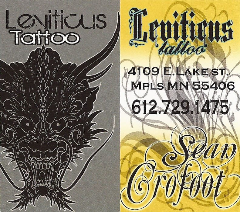 Mn00020 leviticus tattoo tattoo piercing business for Leviticus on tattoos