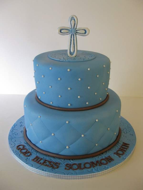 Solomon s Baptism Cake
