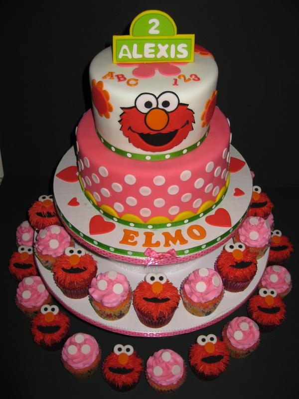 Lexi s Elmo 2nd Birthday Tower