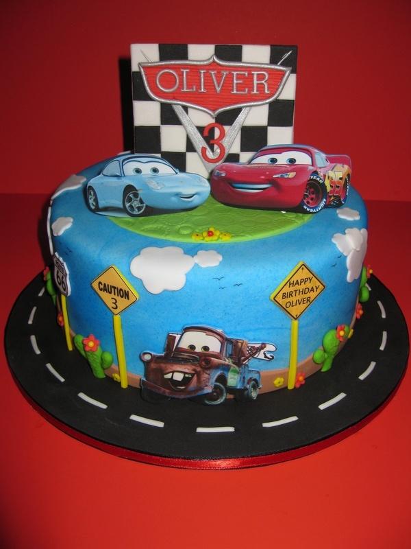 Disney Pixar Car s Birthday Cake