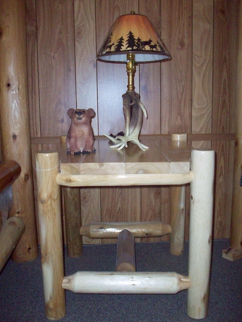 White Cedar End Table Thurston 39 S Furniture And Mattresses20350 M60 Homer Mi 49245 517 568 3851