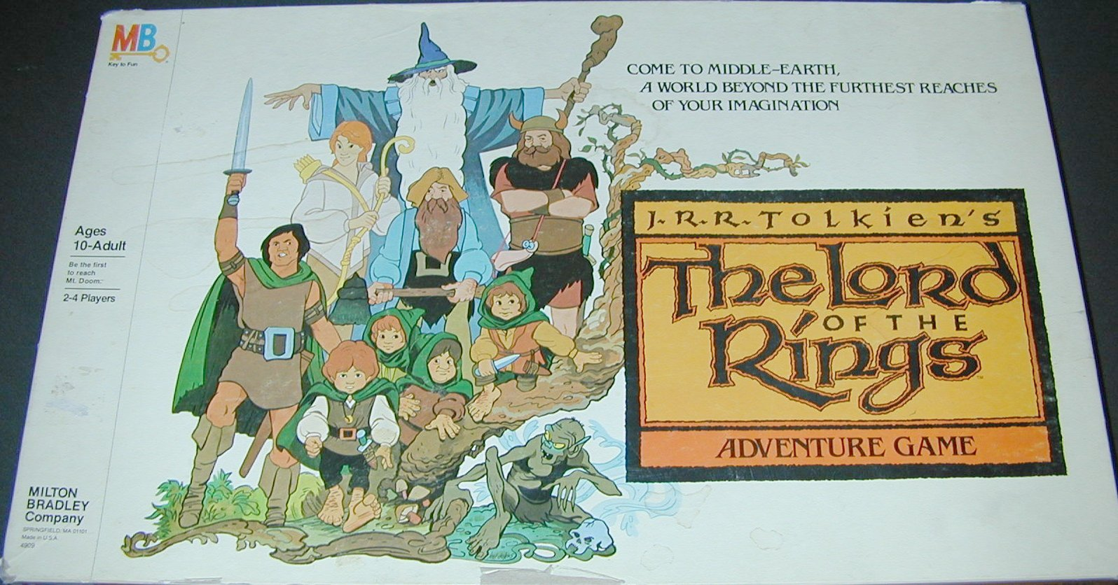 The Lord Of The Rings Adventure Board Game Rules