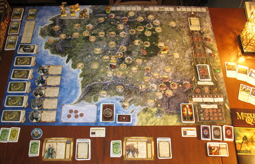 Tolkien Boardgames Middle Earth Quests Ff