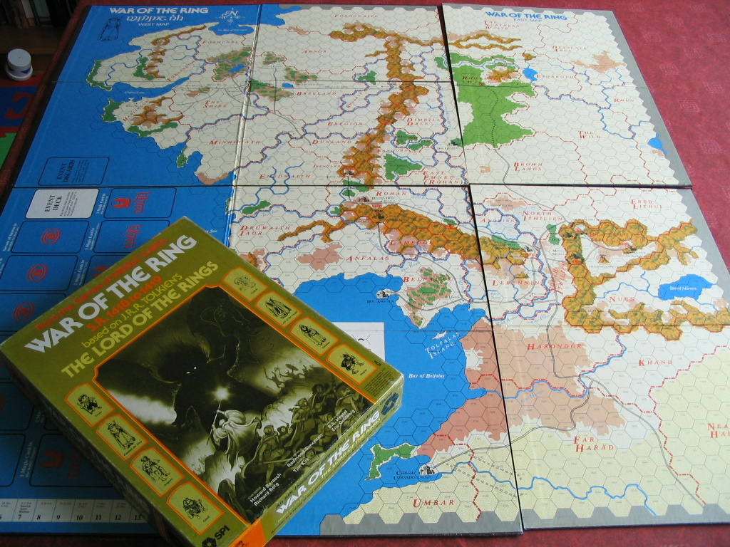 Lord Of The Rings Strategy Battle Game Board