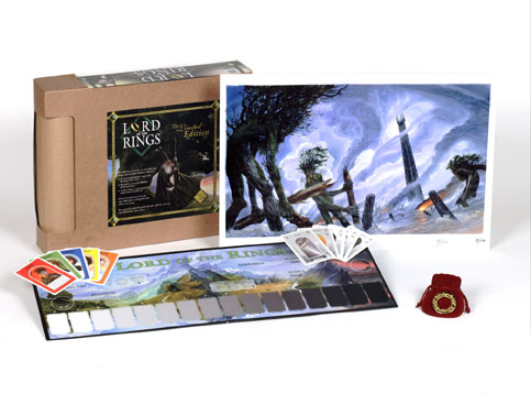 tolkien boardgames lotr limited edition