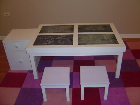 Child Activity Table/Center - TOYBOX WOODWORKING