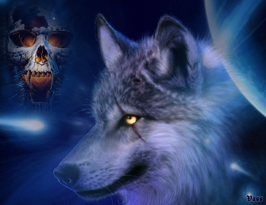 badass wolf with scared eye - How To Become A Real Werewolf