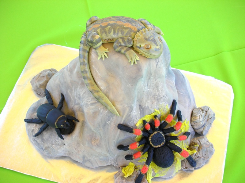 Creepy Crawly Critter Cake - With Love & Confection