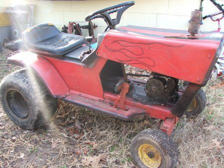 Riding lawn mower sputtering and backfiring?help? - Yahoo!7 Answers